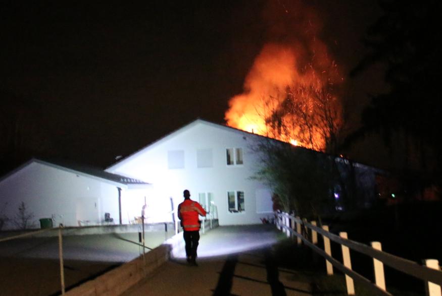Brand in Neftenbach